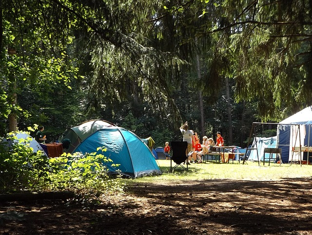 camping avec des enfants