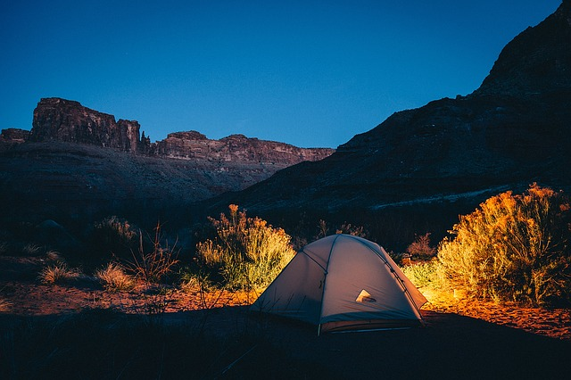 nuit au camping