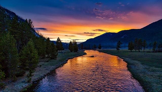 endroit clé pour pêcher en rivière