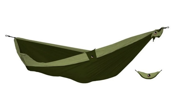 Hamac double vert armée