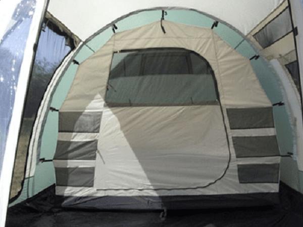 tente tunnel familiale de camping