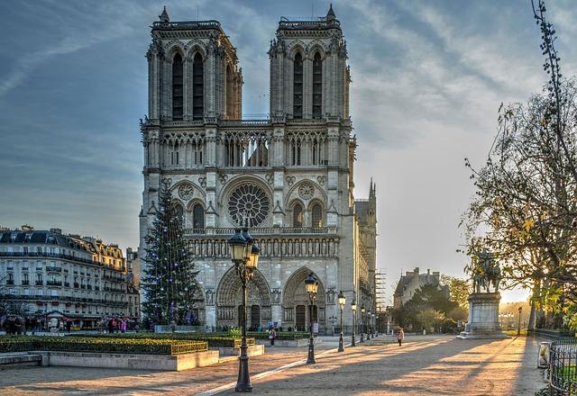 Cathédrale Notre Dame, Paris, France