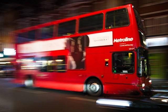 bus la nuit