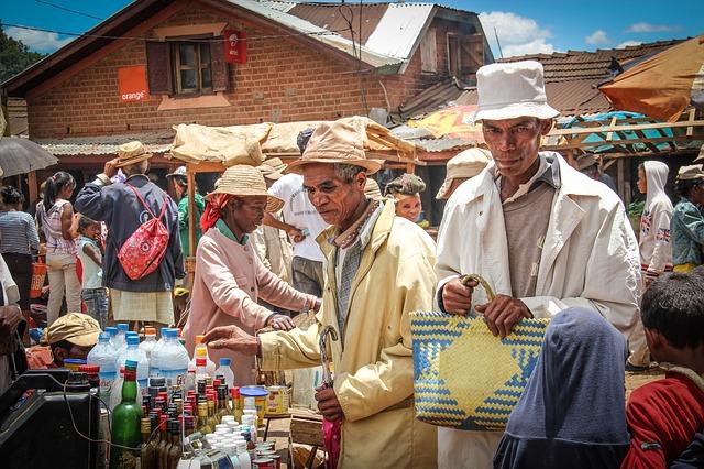 madagascar marché