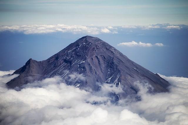 volcan Popocatépetl