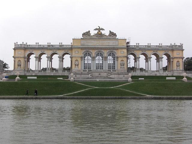 Jardins de Schonbrunn, Vienne, Autriche