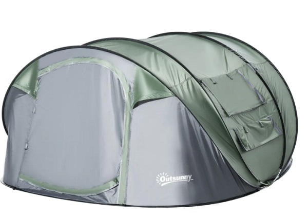 Tente de camping instantanée 4/5 places
