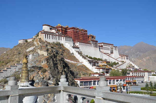 Lhassa au tibet