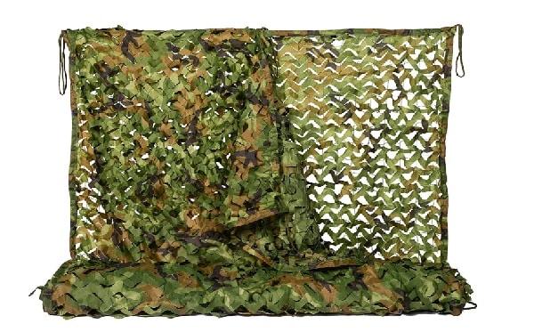 meilleur filet de camouflage