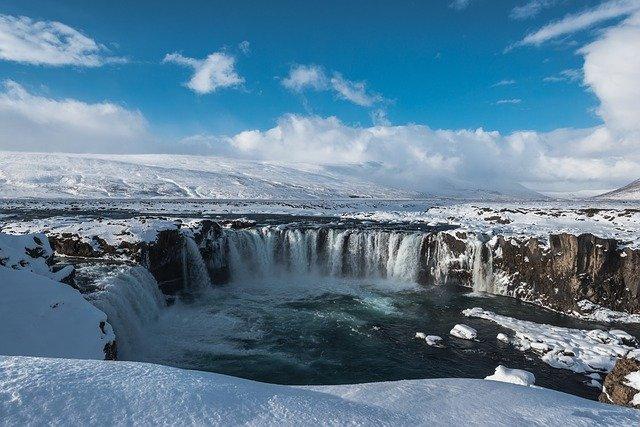 godafoss en islande