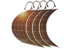 panneau solaire pour un camping car