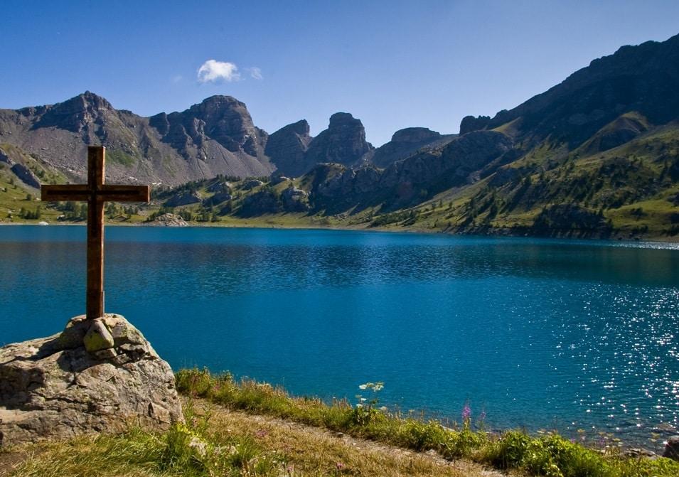 magnifique lac de montagne