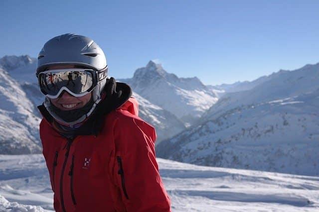 beau casque de ski