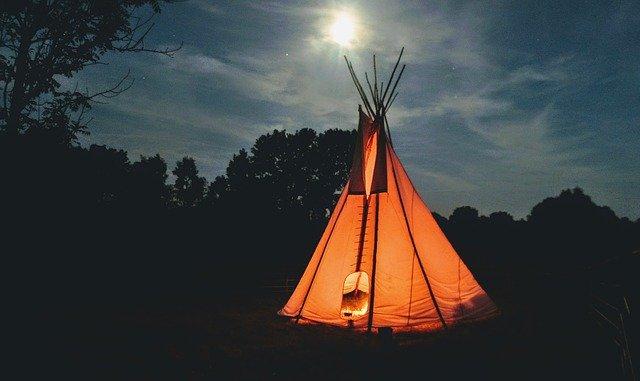 teepee de camping