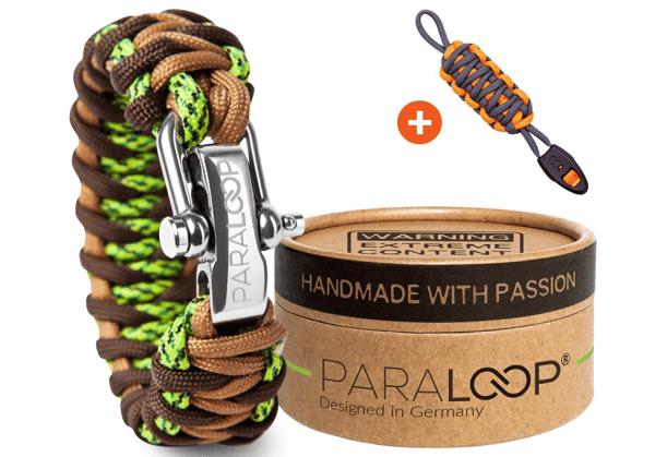 bracelet paracorde bien tressé