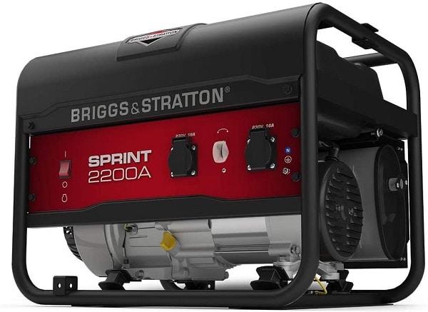 Groupe électrogène Briggs & Stratton portable 2200 W