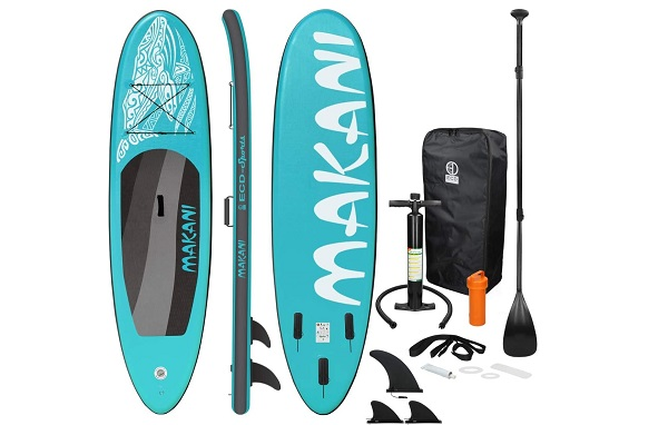 paddle gonflable bleu