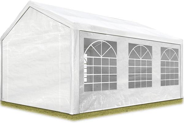 grande tente de réception blanche
