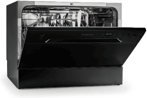 mini lave vaisselle noir